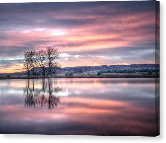 Pastel Sunrise Canvas Print
