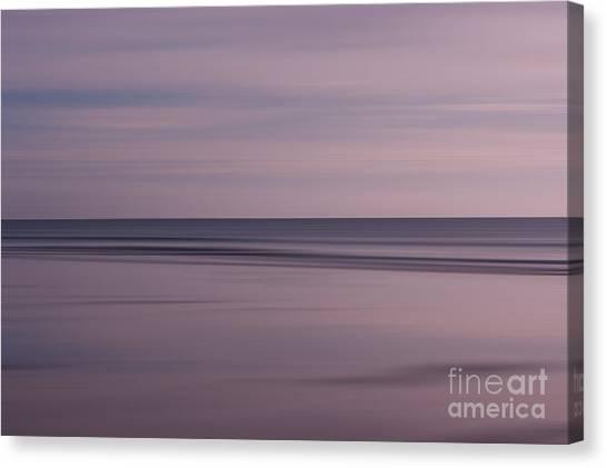 Pastel Sunrise Canvas Print by Michelle Stevens
