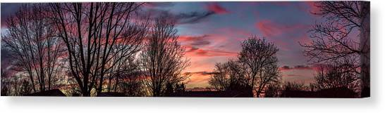Pastel Sunrise Canvas Print