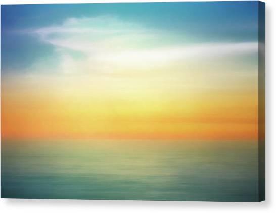 Bases Canvas Print - Pastel Sunrise by Scott Norris