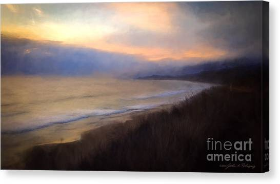 Pastel Sunset Canvas Print