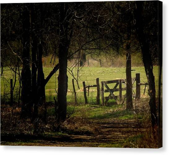 Pastor Gate  Canvas Print