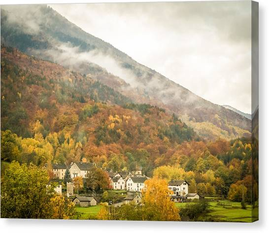 Pastoral Village Canvas Print