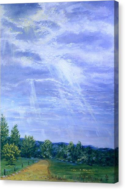 Pasture Lane Canvas Print