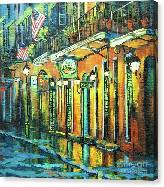 Pat O Briens Canvas Print