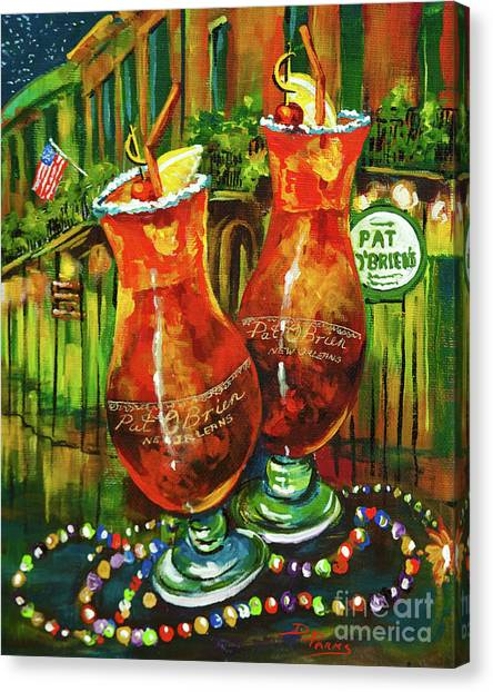 Pat O' Brien's Hurricanes Canvas Print