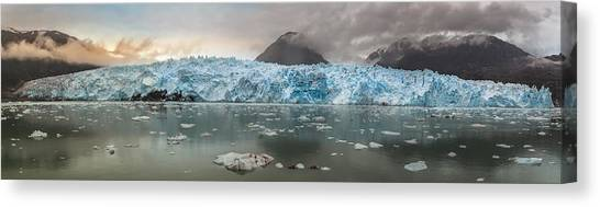 South American Canvas Print - Patagonia - Glacier Amalia by Michael Jurek