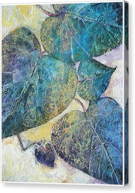 Path In Life Canvas Print by Mary Sonya Conti