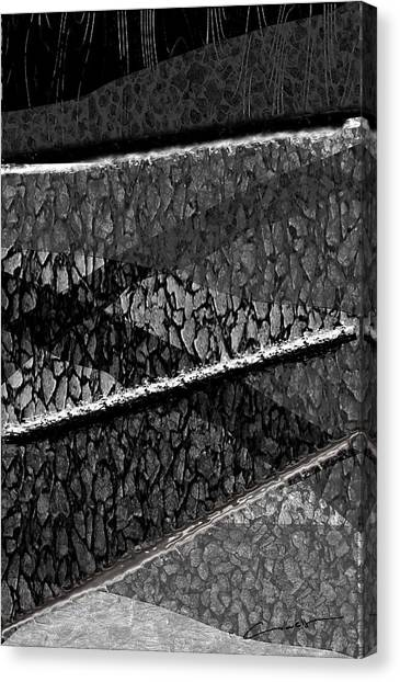 Path To Home Canvas Print