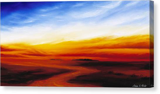 Path To Redemption Canvas Print