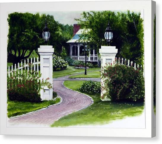Path To The Garden Studio Canvas Print by Gail Wurtz