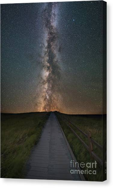 Path To The Stars  Canvas Print