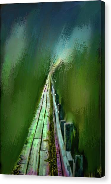 Path To The Unknown #h5 Canvas Print