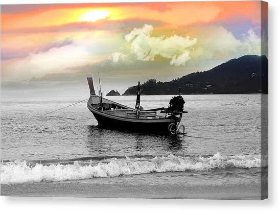 Venice Beach Canvas Print - Patong Beach by Mark Ashkenazi