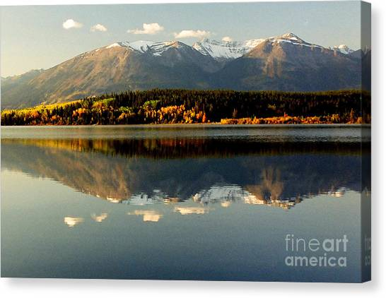 Patricia Lake Canvas Print by Frank Townsley