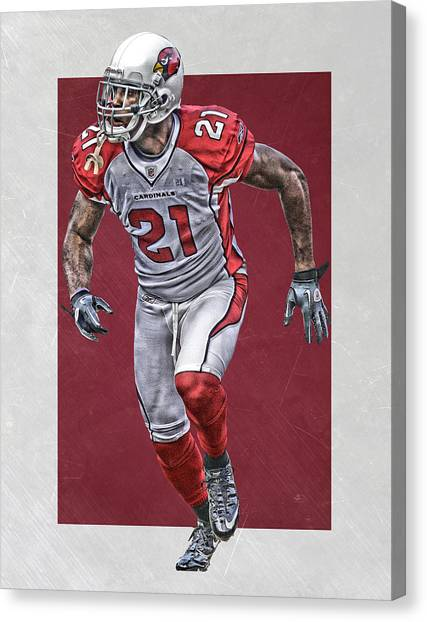 Arizona Cardinals Canvas Print - Patrick Pederson Arizona Cardinals Art by Joe Hamilton