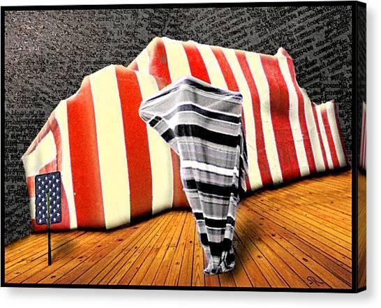 Patriot Sack Canvas Print