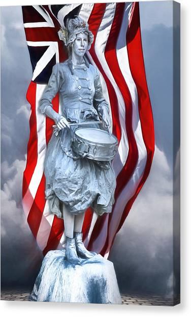 Philadelphia Union Canvas Print - Patriot's Day by John Haldane