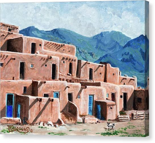 Patrolling The Pueblo Canvas Print