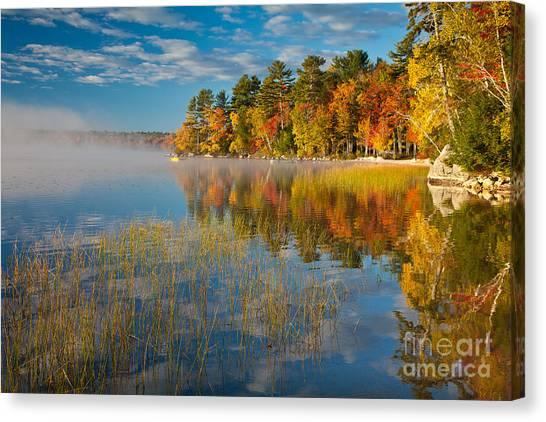 Patten Pond Canvas Print