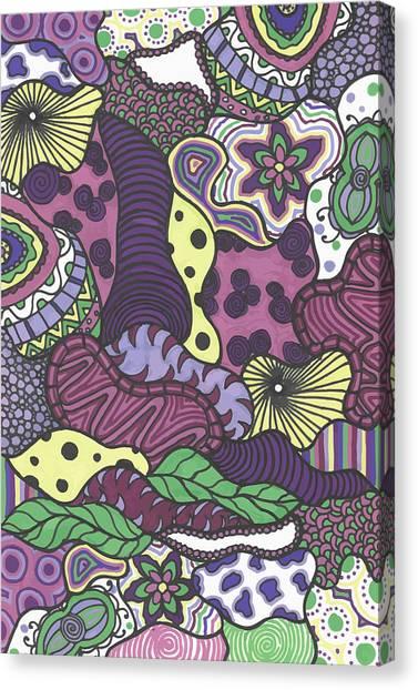 Pattern Jungle Canvas Print