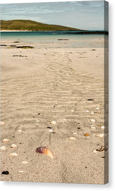 Patterns In The Sand Canvas Print