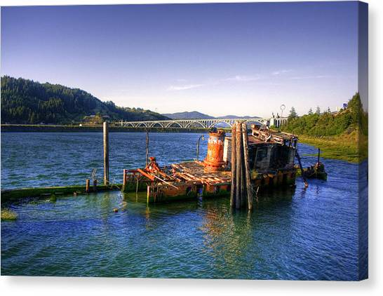 Patterson Bridge Oregon Canvas Print