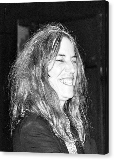 Patti Smith 1 Canvas Print