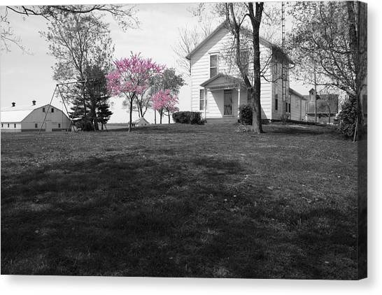 Canvas Print featuring the photograph Patton Place by Dylan Punke