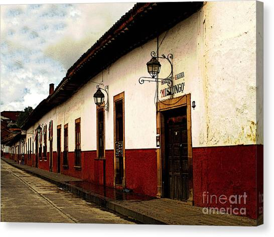 Patzcuaro Colors Canvas Print by Mexicolors Art Photography