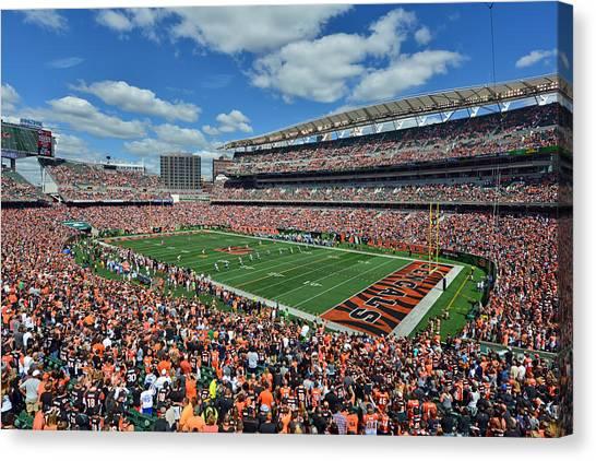 Paul Brown Stadium - Cincinnati Bengals Canvas Print