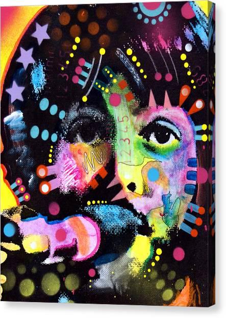 Paul Mccartney Canvas Print - Paul Mccartney by Dean Russo Art