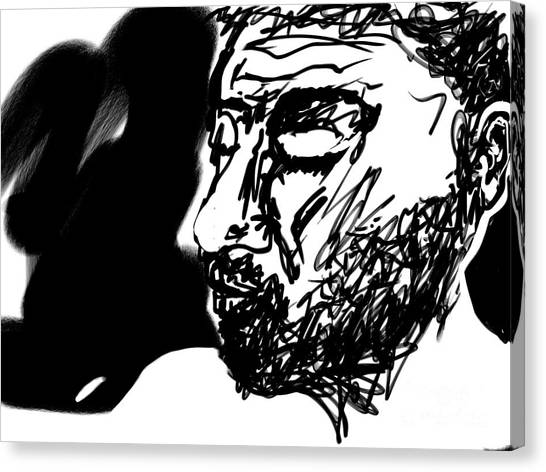 Paul Ramnora Self-portrait Canvas Print