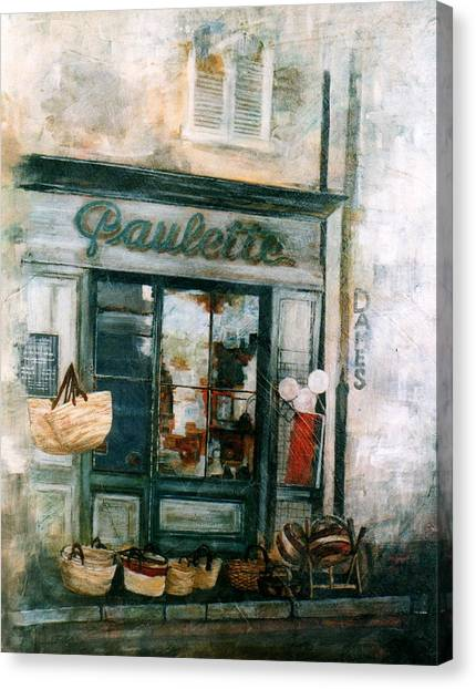 Paulette Canvas Print by Victoria Heryet