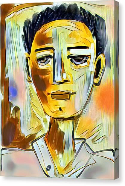 Pauls Portrait Canvas Print