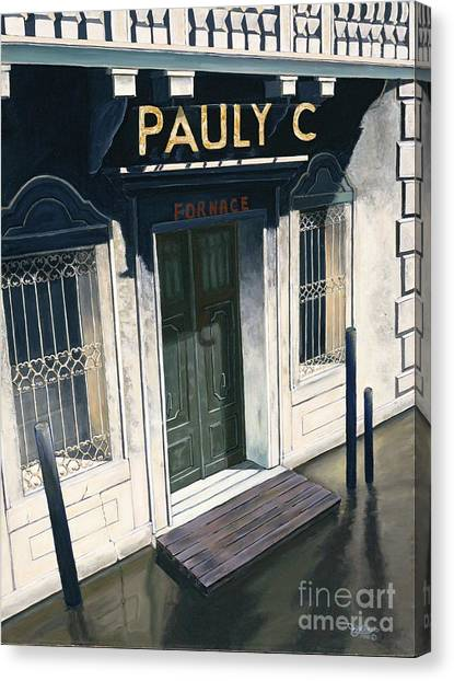 Pauly C. Fornache Canvas Print by Jiji Lee