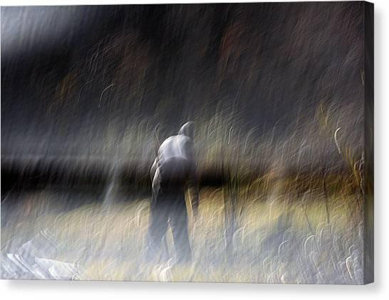 Pause Canvas Print by Robert Shahbazi