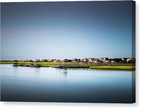 Marshes Canvas Print - Pawleys Island North Causeway by Ivo Kerssemakers