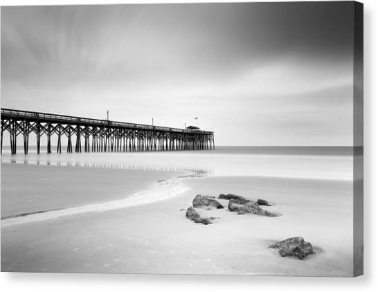 South Carolina Canvas Print - Pawleys Island Pier I by Ivo Kerssemakers