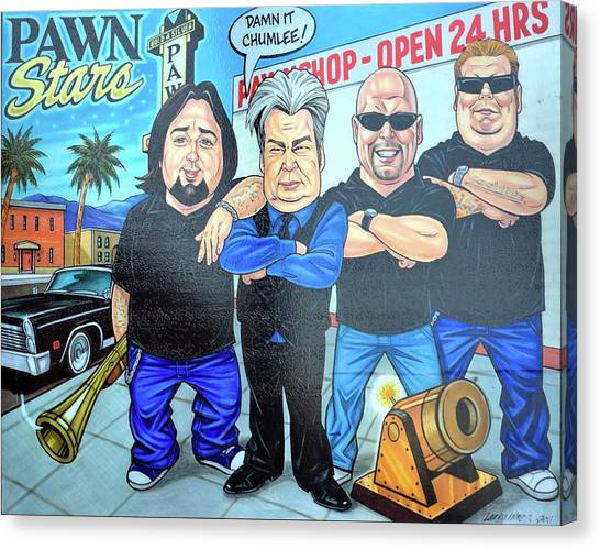 Pawn Stars In Las Vegas Canvas Print