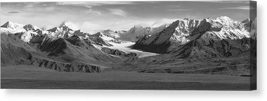 Paxson Glacier Wide Canvas Print