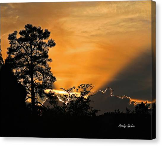 Payson Sunset Canvas Print