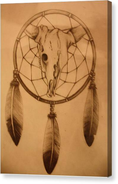 Dream Catcher Gallery Canvas Print - Pd7-10 by Shannon Rains