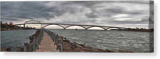 Peace Bridge Canvas Print