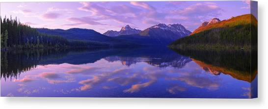 Glacier National Park Canvas Print - Peace by Chad Dutson