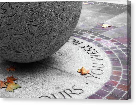 Peace Memorial Canvas Print by JAMART Photography