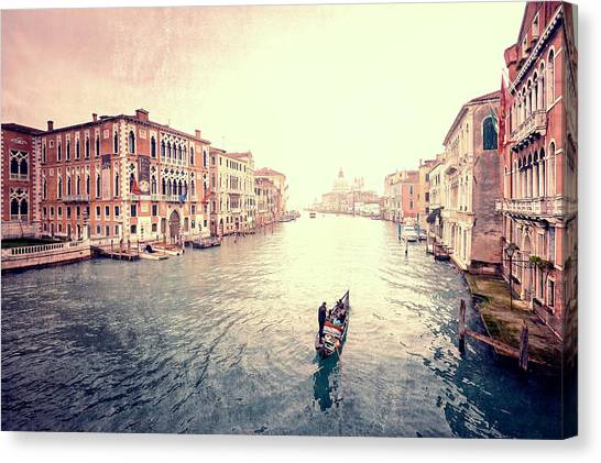 Peace In Venice Canvas Print