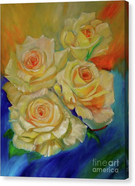 Peace Roses Canvas Print
