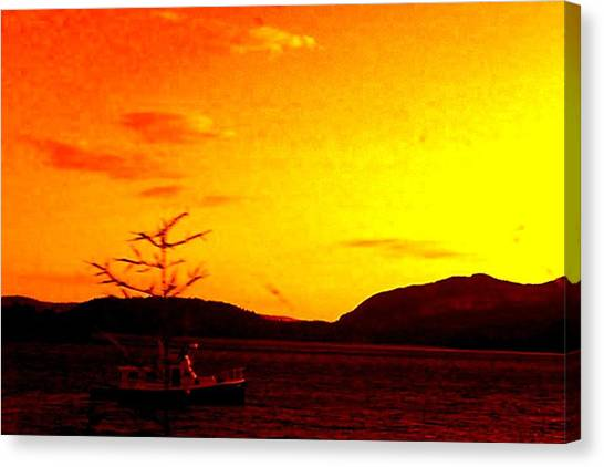 Peaceful Canvas Print by Allison Prior