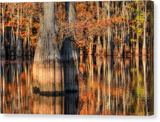 Peaceful Autumn Afternoon Canvas Print